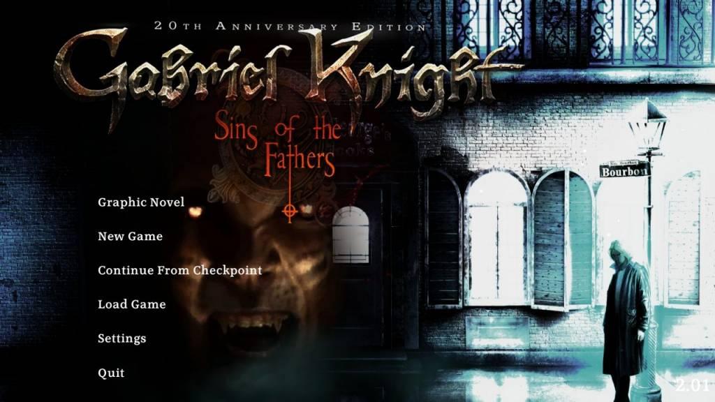 Grzechy Ojców, Gabriel Knight